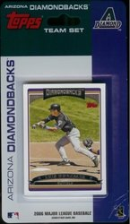 Topps MLB Arizona Diamondbacks Licensed 2006 Team Sets