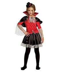 SugarSugar Girls Midnight Miss Costume, One Color, Medium, One Color, Medium