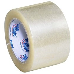 "Tape Logic Carton Sealing Tape 3"" x 110 Yds 1.8 Mil Clear - Pkg Qty 24"