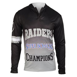 NFL Oakland Raiders Super Bowl XI Champions Hoody Tee, XX-Large