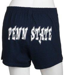 NCAA Penn State Cheer Shorts, X-Large