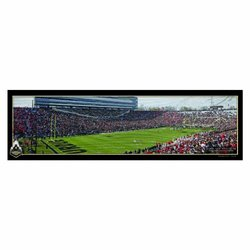 NCAA Purdue Boilermakers Panoramic Stadium View Wood Sign, 9 x 30-Inch