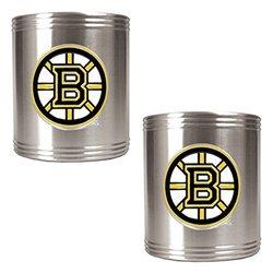 Great American NHL Logo Stainless Steel Can Holder Set Ottawa Senators