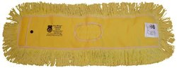"Zephyr 12366 Pro-Blend Yellow Dust Mop Head, 60"" Length x 5"" Width (Pack of 6)"