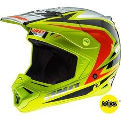 One Industries Gamma Raven Helmet (Chartreuse/Black, Small)