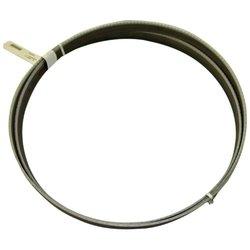 "WESPA 64020119WO0900 Bitec Plus Bimetal Band Saw Blade with Positive Rake Variable Tooth 0.035"" Thick 4-6 TPI 1"" Width x 108"" Length"