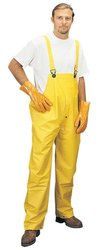 Liberty Durawear Pvc/Polyester Bib Overall Pant - Yellow- Size: 2XL
