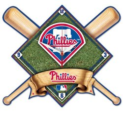 MLB Philadelphia Phillies High Definition Clock