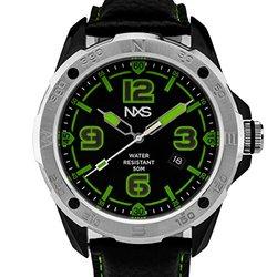 NXS Kadono Men's Sport/Casual Miyota Quartz Watch, Genuine Leather, Exceptional Luminescence