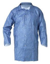 Kimberly-Clark KleenGuard Protection Lab Coats - Size: XXL (25 per Case)
