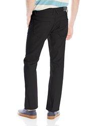 Akademiks Men's Shady Slim Fit Stretch Pants -Black -Size: 32x30 (A16JN02)