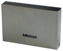 Mitutoyo 2.1mm Length Steel Rectangular ASME Grade AS-1 Metric Gage Block
