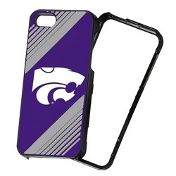NCAA 2-Piece Snap-On iPhone 5/5S Polycarbonate Case -Kansas State Wildcats
