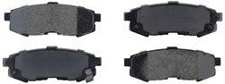 Axxis 45-10730D Deluxe Advanced Premium Ceramic Brake Pad Set