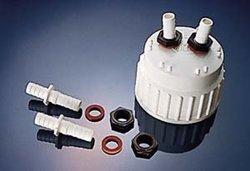 Nalgene 12.8mm Tubing Polypropylene Barbed Bulkhead Fittings - Pack of 24