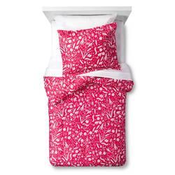 Pillowfort 2-Piece Floral Festival Comforter Set - Pink - Size: Full/Queen