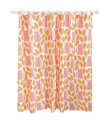 """Pillowfort 72x72"""" Cheetah Shower Curtain - Apricot"""