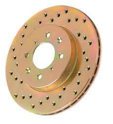 Power Stop Car & Truck Cross Drilled Performance Brake Rotor - Right