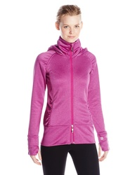 Tamagear Women's Saddleback Full Zip Mid-Layer Jacket - Fuchsia - Size: M