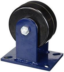 "RWM Casters 76-DUR-0630-R 8"" High 6"" Durastan Wheel Rigid Caster"