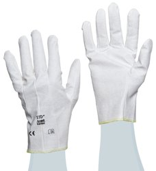 STD Cut Resistant Sewn Coated Vinyl Glove - Pack of 12 - Small - Size: 7