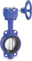"Sharpe Valves 4"" 17 Series Ductile Iron Butterfly Gear Operator Valve"