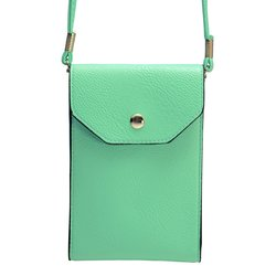 J.access Trendy Cell Phone Cross Body Bag - Green