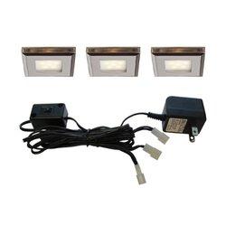 Dals Lighting Mini Slimed Lights - Satin Nickel