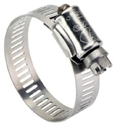 Ideal-Tridon 67-5 Series Stainless Steel Clamp - Silver - Size: 1/2""