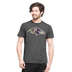 NFL Baltimore Ravens Men's '47 Forward High Point Tee - Black - Size: Large