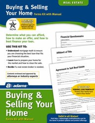 Adams Buying/Selling Your Home Kit - Forms & Instructions (K311)
