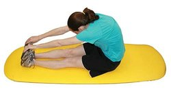 CanDo 30-2310Y Exercise Mat - 24 x 72 x 0.6 - Yellow yellow