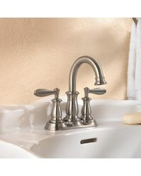 Pfister Langston 4 in. Centerset 2-Handle Bathroom Faucet - Brushed Nickel