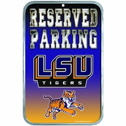 WinCraft NCAA Louisiana State Fightin Tiger Locker Room Sign