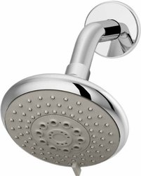Naru Single-Handle Shower System in Chrome