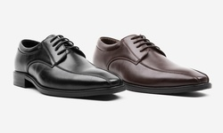Oak & Rush Men's Toe Dom Oxford Shoes - Brown - Size: 11