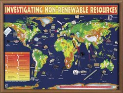 Hubbard Scientific 2565 Investigating Non-Renewable Resources Chart