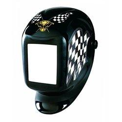 Sellstrom 24400FBL Finish Line Titan Nylon Lightweight Welding Helmet with Black Bezel