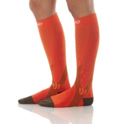 Mojo Recovery & Performance Compression Socks: Orange/xl