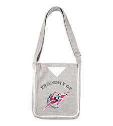 Little Earth Washington Wizards Hoodie Crossbody Bag - Gray - Size: One
