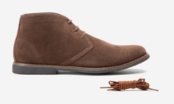 Oak & Rush Men's Chukka Boots - JR065B Brown - Size: 9.5