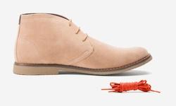 Oak & Rush Men's Chukka Boots - JR065B Chestnut - Size: 12