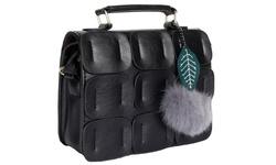 Gilbin Women's Structured Crossbody Bag - Black