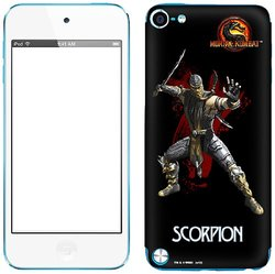 Zing Vinyl Adhesive Skin for iPod touch 5G - Mortal Kombat Scorpion