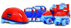 Pete the Cat Boys Junior Skate Combo Set - Blue/Red