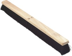 "Carlisle 36"" Flo-Pac Floor Sweep Hardwood Block w/ 3"" Tampico Bristles"