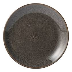 Threshold Belmont Stoneware Reactive Salad Plate Set - Pack of 4 - Grey