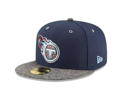 New Era Unisex Tennessee Titans 2016 Stage 59Fifty Fitted Cap - Blue/Gray
