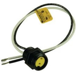 Brad Woodhead Female Right Angle Mini-Change A-Size Receptacle with Lead