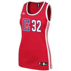 NBA Women's Los Angeles Clippers Blake Griffin Replica Jersey- Red/XL